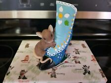 Charming Tails Beautiful Sole Always Fashion Mouse Mice Boot Blue Victorian Soul
