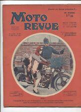 Moto Revue N°459  ;  26 décembre  1931 : pneus haute ou basse pression