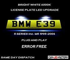 Fit BMW E39 & M5 5 Series 95-04 White LED Number Plate Light Bulb *PLUG & PLAY*