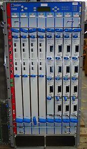 JUNIPER T640BASE-DC + 15x PC-1XGE-XENPAK + 4x T640-FPC3-E + 4x T640-FPC4-ES