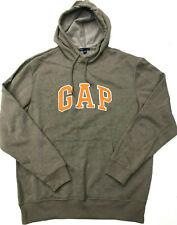 Mens GAP Hoodie NEW Khaki/Orange Top Size M