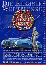 Techno Classica Essen Messeprospekt 2011 Weltmesse für Oldtimer fair classic car