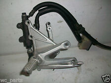 Right Rearset foot peg CBR1000RR CBR 1000 CBR1000 1000RR rear set 04 05 06 07