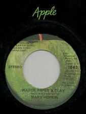 "Mary Hopkin - Water Paper & Clay - Apple 7"" 45"