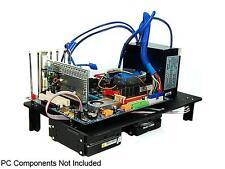 DIYPC Alpha-DB6 Black Acrylic ATX Bench Case Bench Computer Case for ATX/Micro A