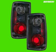Black Altezza Clear Tail Lights Lamps Right Left Side for Toyota Hilux 88-97 Ute