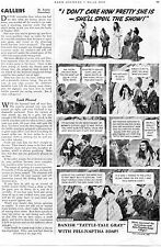 1938 Fels Naptha Soap Chips Print Ad Snow White and the Seven Dwarfs Play