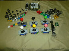 Mame, Multicade, Xin Mo Package Kit, Zippyy Joysticks, LED Buttons, & Encoder