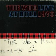 Live at Hull 1970 [Digipak] by The Who (CD, Nov-2012, 2 Discs, Geffen)