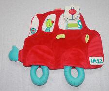 Haba Label Schmusetuch Schmusetier Schnuffeltuch Kuscheltuch Auto Katze TOP RAR