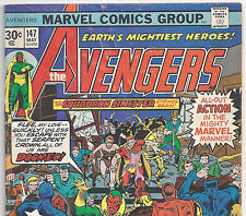 The AVENGERS #147 Rare 30 cent Price Variant from May 1976 in VG- condition