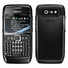 Nokia E71 BLACK Mobile - QWERTY - With WIFI & 3G - Refurbished