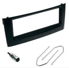 Mascherina kit supporto autoradio 1 DIN (ISO) sola FIAT Grande Punto NERA -BLACK