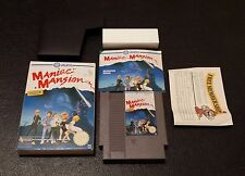 Maniac Mansion, NES ( Nintendo Entertaiment System ) UK Version, MINT