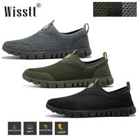 Men's Running Athletic Sneakers Tennis Walking Sports Casual Breathable Shoes