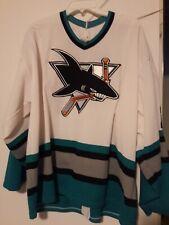 NHL DOUG WILSON San Jose Sharks CCM Vintage White Authentic Jersey sz XXL