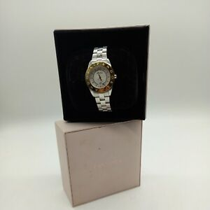 Small Boxed Gold and Silver Skinny Pandora Watch (#H1/19)