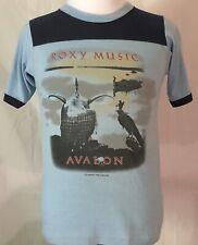 Roxy Music 1982 Avalon European Tour Shirt Size Medium