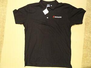 Specialized Black Polo Shirt Size 2XL 46-48 Chest