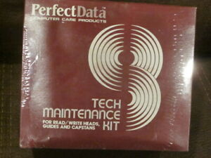 Vintage perfect data computer tech maintenance kit new old stock