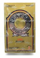 LEAF SET Baseball 1992 Edition Series 2 Box 36 Packs Hobby Trading Cards Sealed