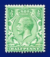 1924 SG418 ½d Green N33(1) Good Used batl