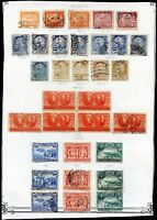BRAZIL Yvert # 178/185, STAMPS LOT, NOT CONSECUTIVE, MH & USED, VF