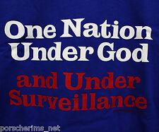 NEW NWT T-ShirtXL ONE NATION UNDER GOD & SURVEILLANCE 7 62 ARMY NAVY VETERAN