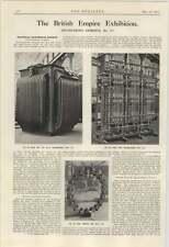 1924 motores eléctricos de bobina de transformador Tanque hipertensión Ltd