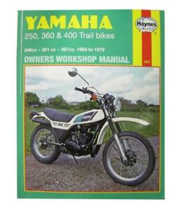 Manual Haynes for 1974 Yamaha DT 250 A (Twin Shock)