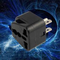 EURO Universal EU UK AU to US USA Canada AC Travel Power Plug Adapter Converter