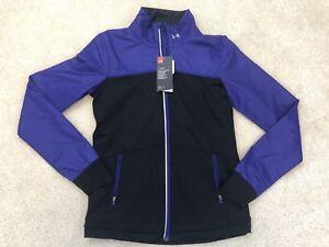 NEW Under Armour UA Infrared Jacket Womens ColdGear No Breaks Sz XS Purple $125