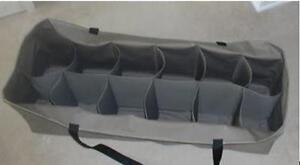 12 Slot Custom Decoy Bag for Over Size Ducks, Super Magnum, Lesser Goose Slotted