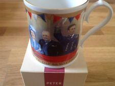 Aynsley Mug To Commemorate the 60th Anniversary of V.E. Day 8th May 1945-2005.