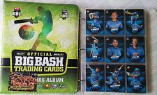 2017-18 tap n play cricket trading cards BBL WBBL set + folder + album card