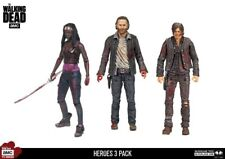 "The Walking Dead Hero 3 Pack 5"" Action Figures - Rick Daryl Michonne McFarlane"
