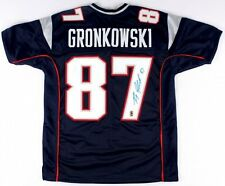 Rob Gronkowski New England Patriots Signed Autographed Patriots Home Jersey