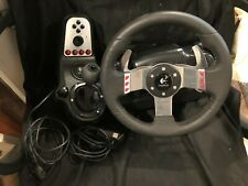 Logitech G27 Racing Steering Wheel and Shifter for PC No Pedals