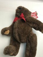 Vintage Gund Jointed Teddy Bear Brown NEW WITH TAGS 1996