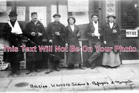 KE 507 - Belgian Wounded Soldiers & Refugees, Margate, Kent - 6x4 Photo