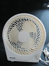 High Velocity 6 inch Personal Desk Fan White