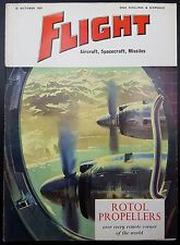 Flight Magazine, Aircraft, Spacecraft, Missiles- 16 October 1959