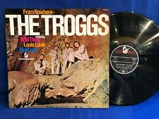 THE TROGGS FROM NOWHERE 74899 HANSA ORIG GERMANY LP NEAR MINT