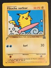 Surfing Pikachu #28 French World Collection Promo 2000 Rare Pokemon Card