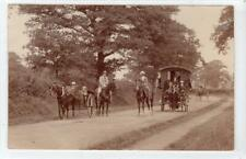 More details for picture postcard of a gypsy caravan by geo. dean of rugby (c62403)
