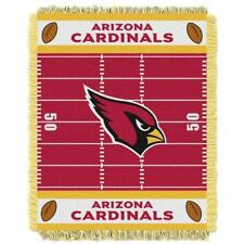 "New Arizona Cardinals NFL Football Small Baby Blanket 36""x 46 Throw Wall Hanging"