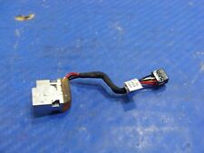 "HP Pavilion 14-b109wm 14"" Genuine Laptop DC IN Power Jack w/Cable 698230-TD1"