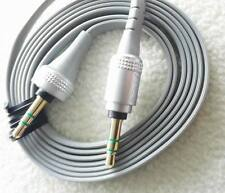 Grey AUX Audio 3.5mm cable male to male for MDR-XB10 XB920 SOLO headphones