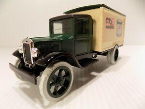 ERTL1931 HAWKEYE Box Delivery TRUCK,C R's Markets Carlos Leffler # F 597 NOS
