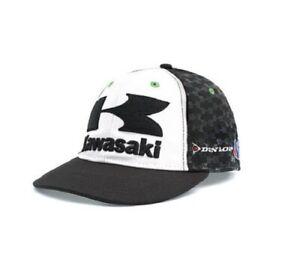 AdronQ MenS Baseball Caps Green Motorcycle Racing Embroideried Kawasaki Cap Hat Baseball Cap Dad Hat Bone Casquette Truker Caps